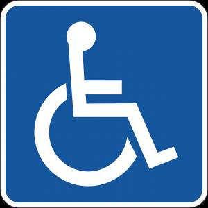 logo discapacidad motriz