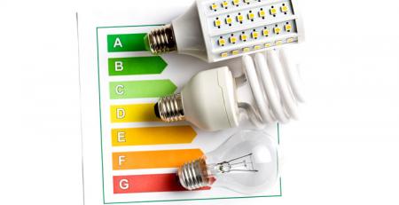 Eficiencia Energetica de lamparas led